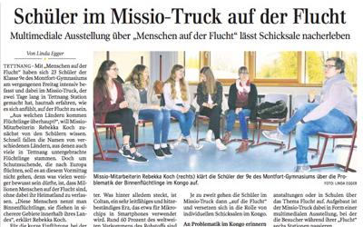 Aus der Schwäbischen Zeitung