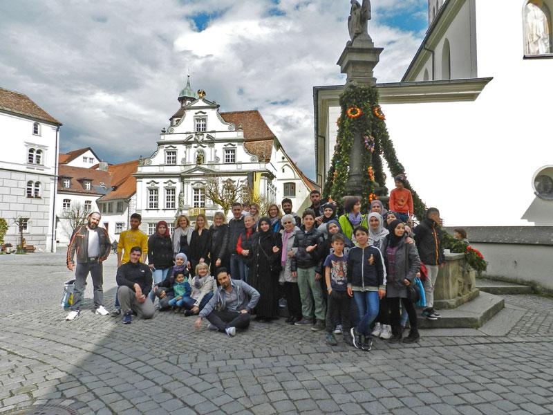 "Neues aus Laimnau: ""Ausflug Wangen"""