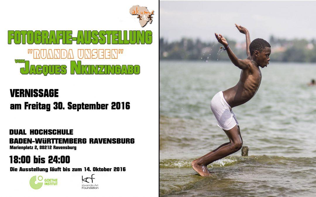 Fotografien von Jacques Nkinzingabo. Vernissage am 30.09.2016 in RV