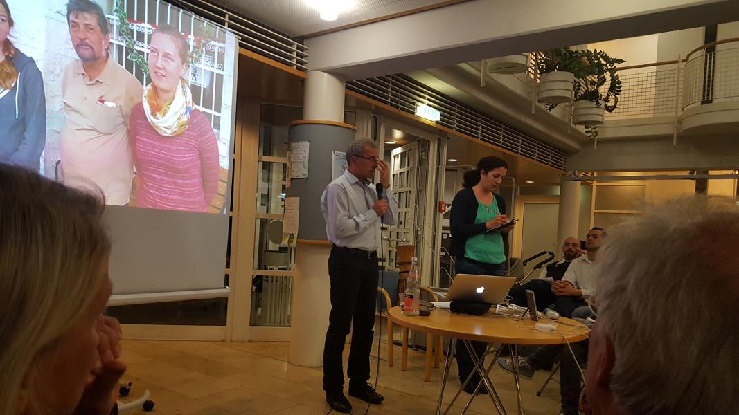 Rückblick zum Vortrag von Clemens Ronnefeldt