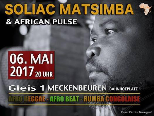 Soliac Matsimba am 6.5. im Gleis 1