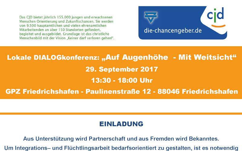 Einladung zur lokalen samo.fa Dialogkonferenz